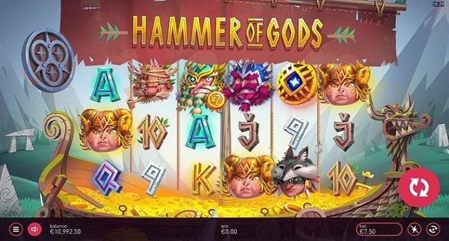 Hammer of Gods (Yggdrasil) Slot Review